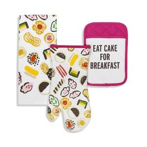 Kate Spade Eat Cake for Breakfast Kitchen Set